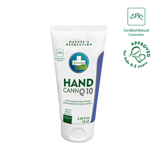 Handcann crème pour les mains - annabis - crème à l'huile de chanvre