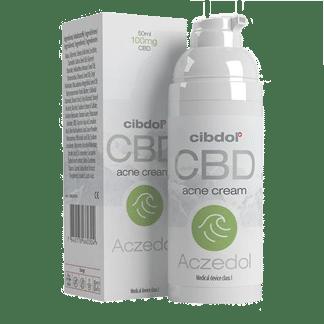 aczedol par cibdol-creme au cbd-aide acne