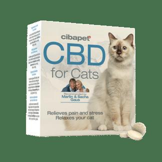 pastilles de cbd-pour chats-chat stressé-chat anxieux-bien etre chat-cibapet