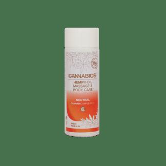 huile de massage neutral x-oil par cannabios - huile de massage neutre