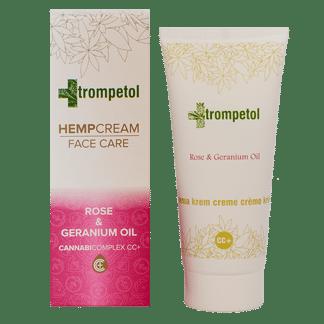 crème visage, Rose & Geranium Oil , trompetol, soin du visage