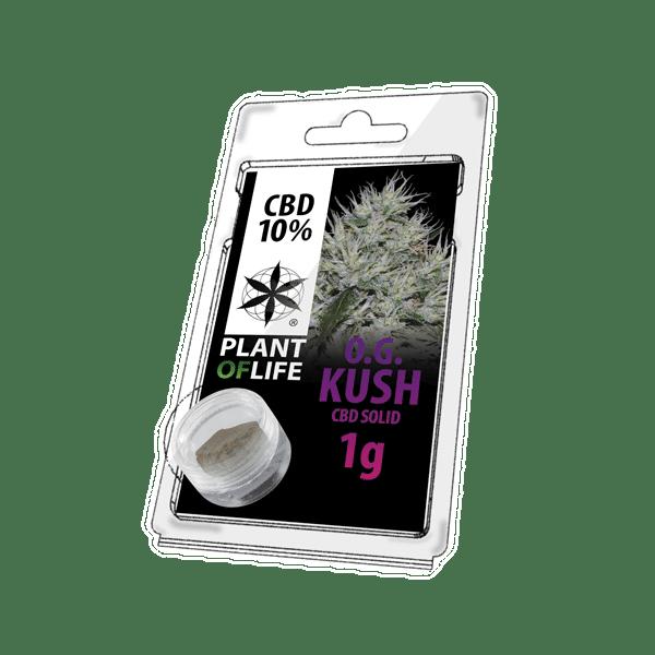 plant of life, og kush, 10% CBD, CBD, solid
