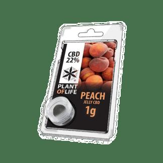 peach - peche- plant of life - 22% CBD- jelly