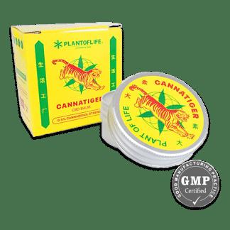cannatiger, baume du tigre, cbd, baume au cbd, plant of life