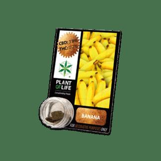 chanvre compressé, compress, amnesia, cbd, 3.8% cbd, plant of life, banane