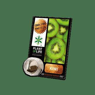 chanvre compressé, compress, amnesia, cbd, 3.8% cbd, plant of life, kiwi