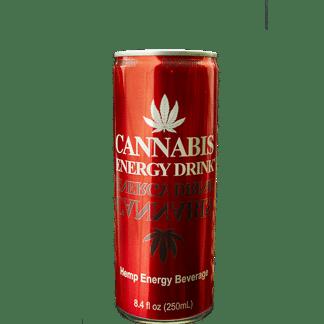 Boisson Énergisante saveur Framboise / Raspberry - CANNABIS ENERGY DRINK