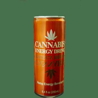 Boisson Énergisante saveur Mangue / Mango - CANNABIS ENERGY DRINK