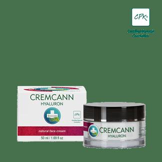 crème hyaluron visage annabis - cremcann - soins du visage