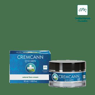 cremcann q10 men - annabis - crème pour homme - soin du visage