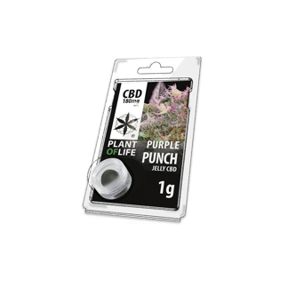 Jelly Purple Punch 1g PLANT OF LIFE 180mg CBD